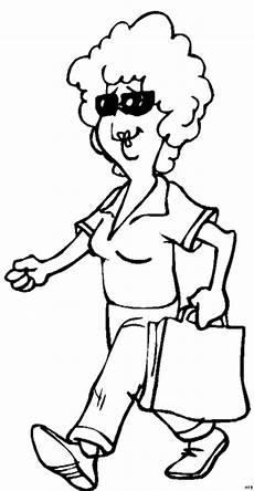Www Malvorlagen Frau Mit Tasche Ausmalbild Malvorlage Comics