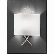 franklite satin nickel cross half shade wall light wb987