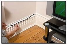 Kabel Dekorativ Verstecken - decorative cable cover hides wires along the wall