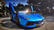 Car Wallpapers Lamborghini Blue