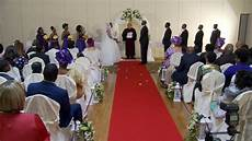 exchange of marriage vows wedding rings at a