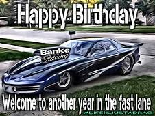 Happy Birthday Race Car / Pro Mod  Meme