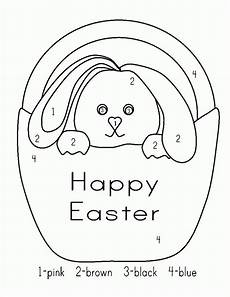 color by number worksheets easter 16129 easter color by numbers best coloring pages for