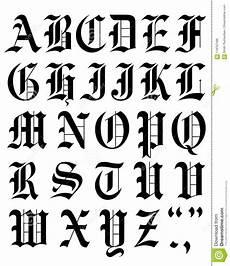 lettere d scritte set font vector alphabet sketch stock vector