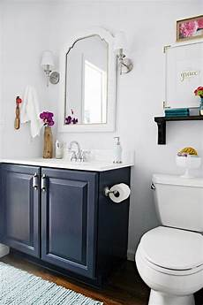 Bathroom Ideas Blue Vanity by I Like This Blue Painted Bath Vanity How We Save On