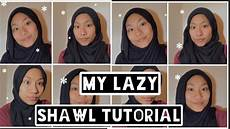 My Simple Shawl Tutorial