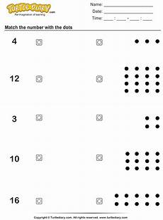 counting the number of dots worksheet turtle diary