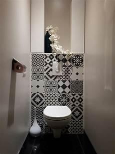 deco carreaux de ciment wc suspendu black and white carreau de ciment gatsby
