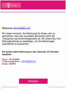 telekom phishing september rechnung warnung ist spam