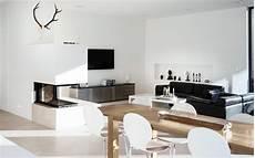 innenarchitektur wohnzimmer mit kamin offener kamin bilder ideen