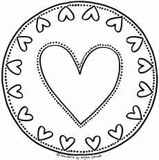 Ausmalbild Herz Hochzeit Mandalas Zum Ausdrucken Und Ausmalen Herz Mandala Mandalas