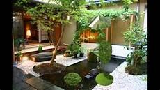 Gambar Taman Rumah Asri Hijau Desain Di Rebanas