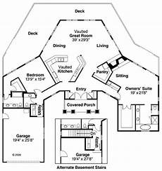 octagon shaped house plans 16 best octagon style house plans images on pinterest