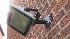 heavy duty wall mounted floodlight bracket for 30 or 50