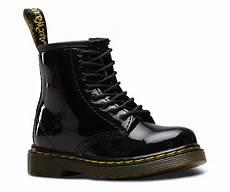 toddler 1460 patent black school shoes dr martens