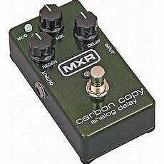 carbon copy analog delay mxr m169 carbon copy analog delay guitar effects pedal guitar center