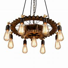 Suspension Type Industriel Bois 65 Cm Myplanetled