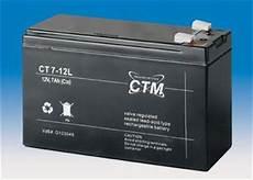 ctm berlin agm batterie blei akku 12v 7ah zyklenfest
