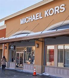 michael kors outlet editorial photography image of