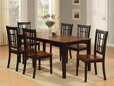 dinette kitchen dining room 7pc table and 6 chairs ebay