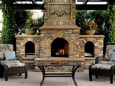 20 cozy outdoor fireplaces hgtv