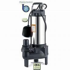 pompe de relevage des eaux usées pompe de relevage 750 w 224 syst 232 me vortex pour eaux vannes