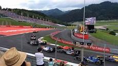 gp2 1st race at f1 spielberg 2016