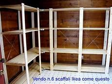scaffali ikea in legno scaffale legno ikea su secondamano it arredamento e
