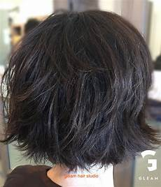 edgy wash and wear gleam hair studio miami hair styles fine hair bangs hair styles
