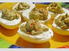deviled eggs moroccan style_image