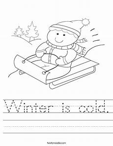 winter worksheets free 19926 winter is cold worksheet twisty noodle