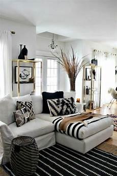 einrichtung schwarz weiß 150 bilder kleines wohnzimmer einrichten