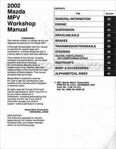 free online car repair manuals download 1994 mazda miata mx 5 head up display free car manuals to download 2002 mazda mpv lane departure warning mazda mpv 2002 2005