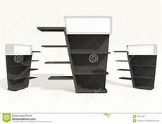 mensole nere mensole nere illustrazione di stock illustrazione di