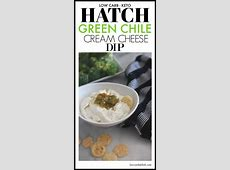 creamy green chile dip_image