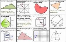 shapes worksheets ks4 1159 gcse revision mats mathedup