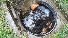 drainage wie es nicht machen sollte
