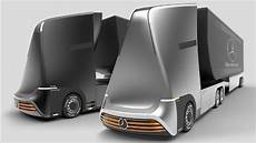 mercedes benz euro x future truck concept youtube