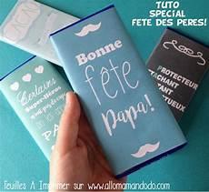 les papiers de chocolat a imprimer pour la f 234 te des p 232 res