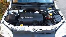 opel combo 1 3l cdti engine running overview