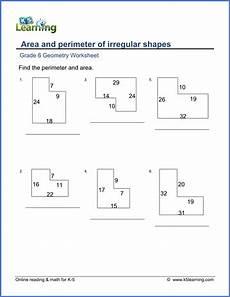 basic geometry worksheets for grade 6 641 grade 6 geometry worksheet area and perimeter of irregular rectangles geometry worksheets