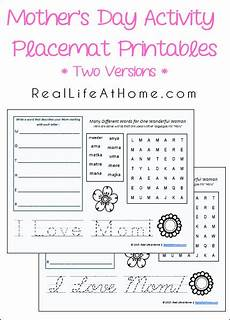 s day worksheets elementary 20348 free s day placemat activity printables free homeschool deals