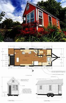 tumbleweed house plans free 27 adorable free tiny house floor plans with images