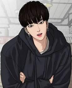 Terbaru 28 Gambar Animasi Kartun Korea Cowok Keren