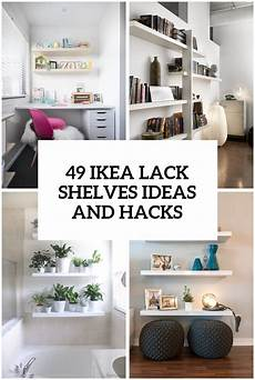 Regal Ikea Lack - 37 ikea lack shelves ideas and hacks digsdigs