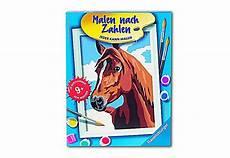 Malen Nach Zahlen Ausmalen Ravensburger Ravensburger Malen Nach Zahlen Stolzes Pferd Weltbild De