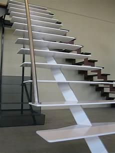 escalier droit design escalier de vdv ferronnerie
