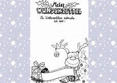 Kostenlose Malvorlage Wunschzettel Weihnachten Miriam Nowak Freebie Weihnachts Wunschzettel