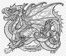 malbuch malvorlagen drache erwachsenen drachen png