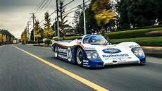 On The Road In A Porsche 962 Le Mans Car Top Gear